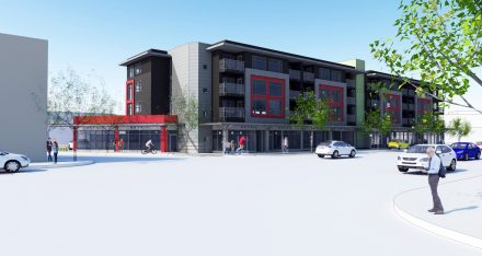 Rendering of 1700 Kingsway project.